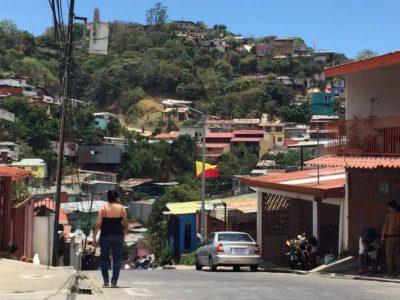 Escena del cantón Desamparados, donde el PRN ganó al PAC por menos de cinco puntos el 4 de febrero y que presenta un alto volumen de probables votantes.