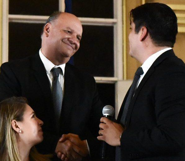 Una de las apuestas altas del presidente electo Carlos Alvarado es su ministro de la Presidencia, el excandidato del PUSC Rodolfo Piza, a quien presentó de primero en la noche del jueves en el salón de la escuela Buenaventura Corrales.