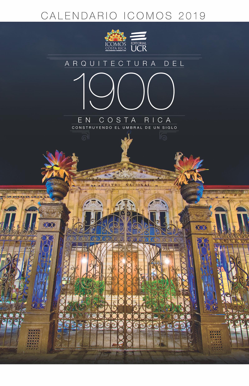 Calendario 1900.Una Mirada A La Arquitectura De 1900 En Un Calendario