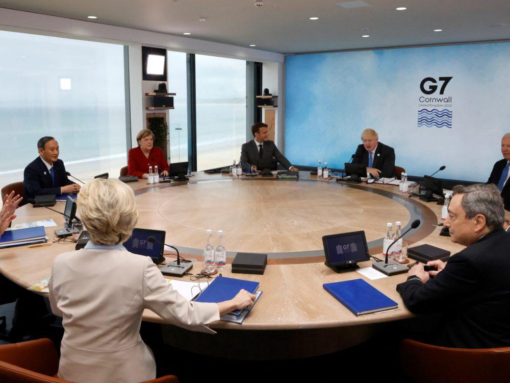El G7 se abre en Inglaterra con el clima y las vacunas como prioridades • Semanario Universidad