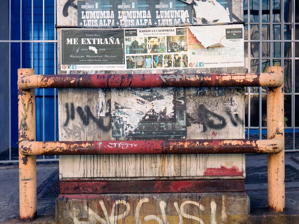 Exposición fotográfica Registro de registro por Luis Diego Ramos