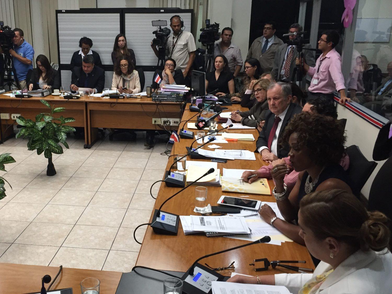 Directivos del BCR comparecieron este martes 29 de agosto ante la comisión legislativa que investiga el crédito público al empresario importador de cemento chino y posible tráfico de influencias