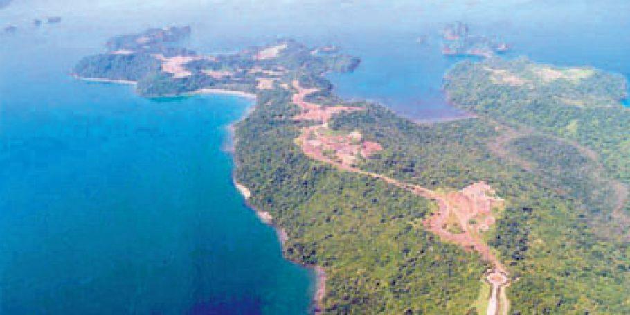 La península de Papagayo era el escenario del hotel que se pretendía desarrollar con el fideicomiso.