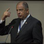 Presidente Luis Guillermo Solís en su informe de labores ante la Asamblea Legislativa, 3 de mayo 2017