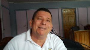 Osvaldo Zárate, presidente municipal de Quepos